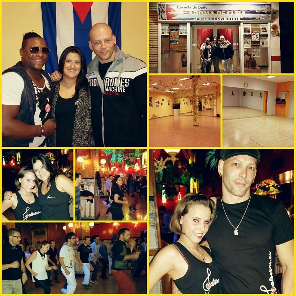 63aac1a917d3 Escuela de Baile Aroma de Cuba y Bar el Sol Zaragoza