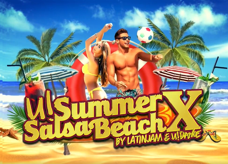 U!SummerSalsaBeachX by U!Dance & Latin Jam