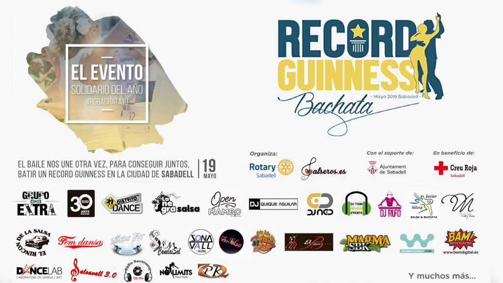 Colaboradores record guinness bachata 2019